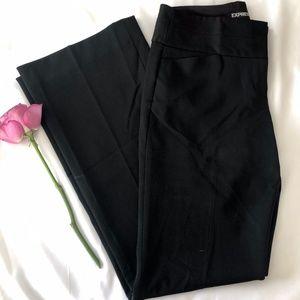 Express 'Editor' Black Dress Pants (0R)